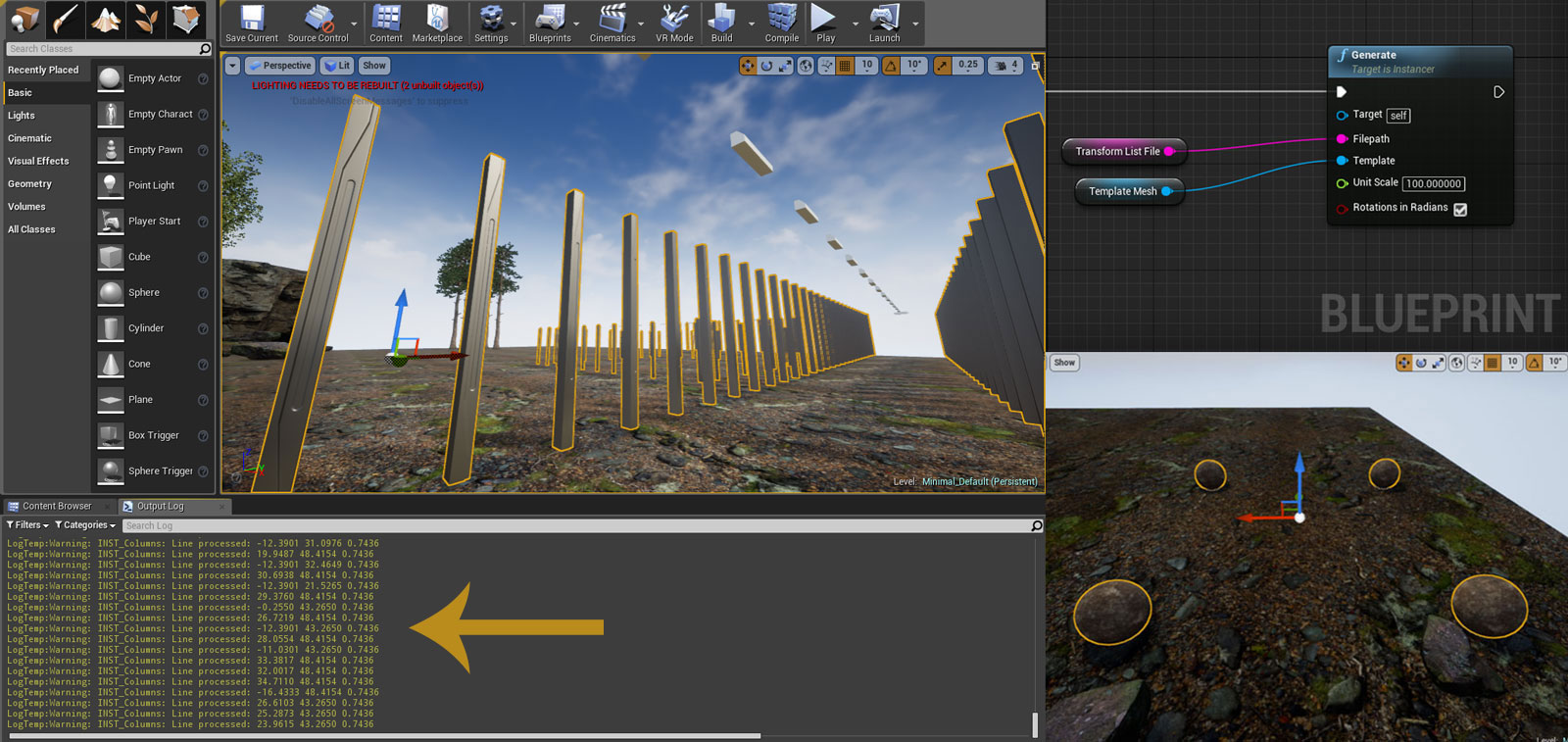 Building Procedural Instancing Tools for Unreal Engine – The